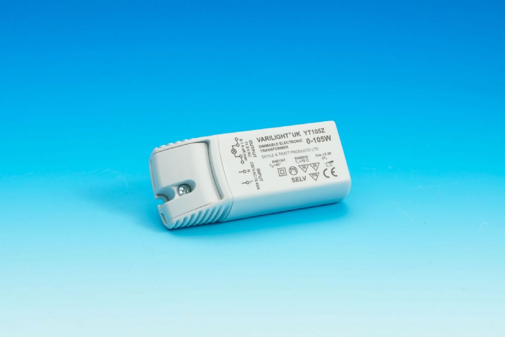 Varilight 105w Dimmable Electronic Transformer With Short